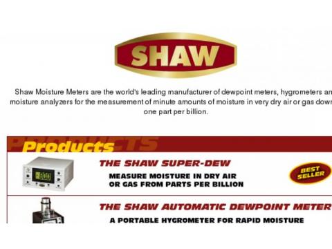 """Фирма """"SHAW Moisture Meters"""", Великобритания"""