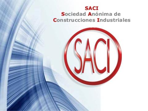"""Фирма """"S.A. de Construcciones Industriales (SACI)"""", Испания"""