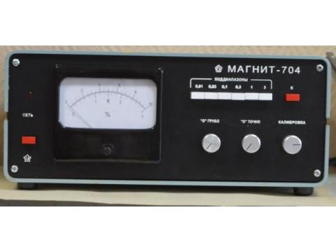 Измерители массовой доли магнитных материалов в шлифовальных материалах Магнит-704