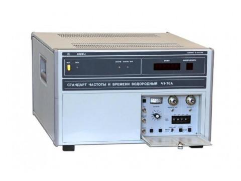 Стандарты частоты и времени водородные Ч1-76А