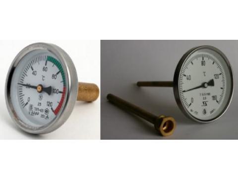 Термометры биметаллические показывающие ТБП