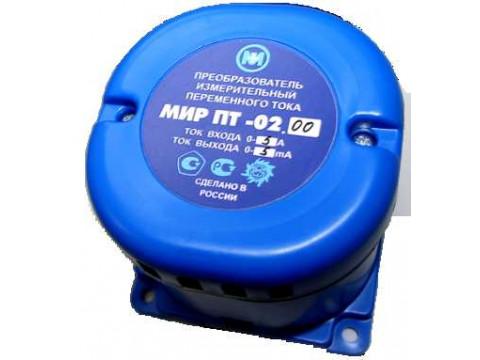 Преобразователи измерительные переменного тока МИР ПТ-02