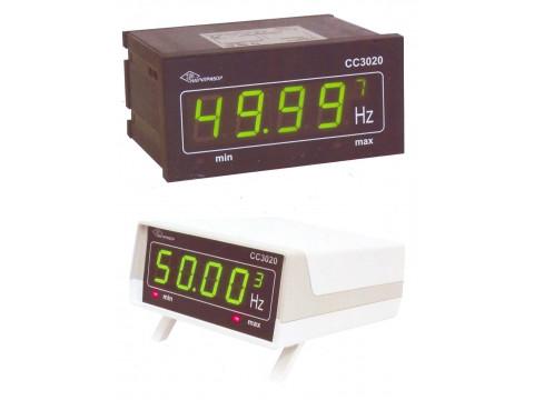 Частотомеры цифровые СС3020, исп. СС3020-Щ, СС3020-Н