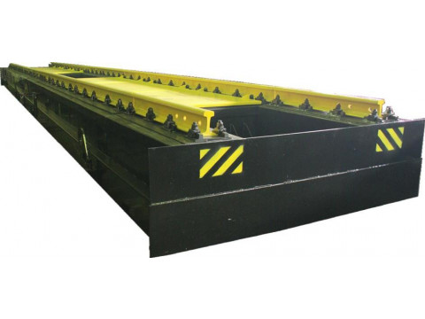 Весы вагонные для статического взвешивания и взвешивания в движении железнодорожных вагонов и поездов РУБИН