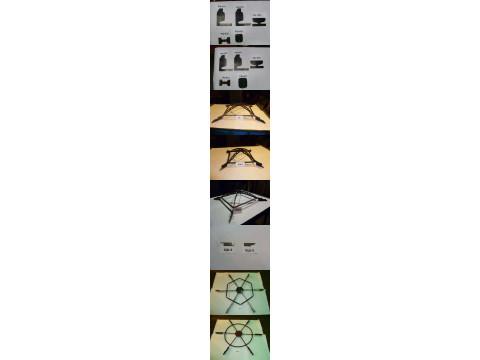Комплект шаблонов для измерения параметров рельсов КРШ