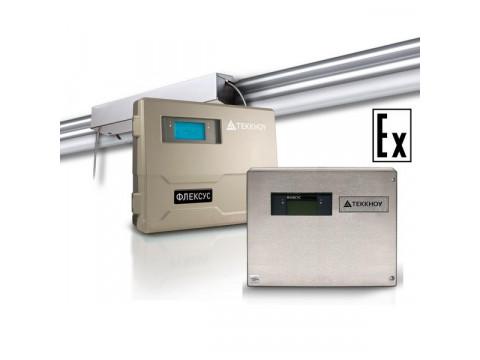 Стационарный ультразвуковой расходомер жидкости Теккноу ФЛЕКСУС F721