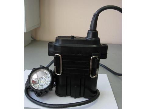 Сигнализаторы метана, совмещенные со светильником головным взрывобезопасным СМГВ