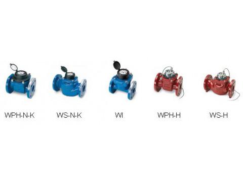 Счетчики холодной и горячей воды турбинные W, исп. WPH-N-K, WPH-N-W, WPH-H, WS-N-K, WS-N-W, WS-H, WI
