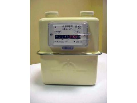 Счетчики газа объемные диафрагменные NPM (G1,6; G2,5; G4)
