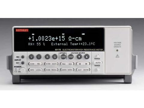 Электрометры-измерители больших сопротивлений 6517B