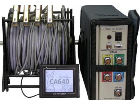 Измерители сопротивления обмоток трансформаторов СА640