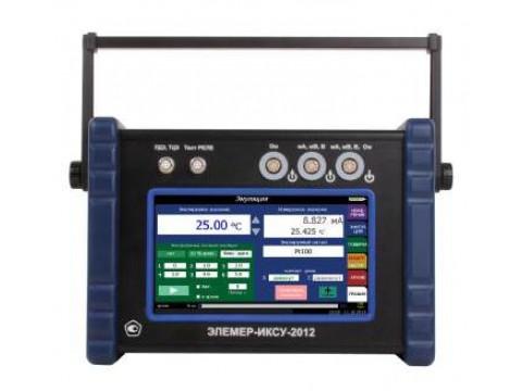 Калибраторы-измерители унифицированных сигналов прецизионные ЭЛЕМЕР-ИКСУ-2012