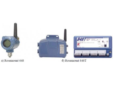 Преобразователи измерительные Rosemount 648, Rosemount 848Т