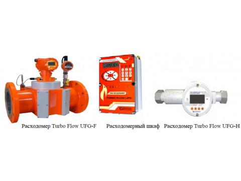 Расходомеры-счетчики газа ультразвуковые Turbo Flow UFG