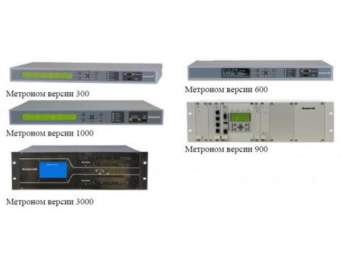 Устройства синхронизации частоты и времени Метроном версий 300, 600, 900, 1000, 3000