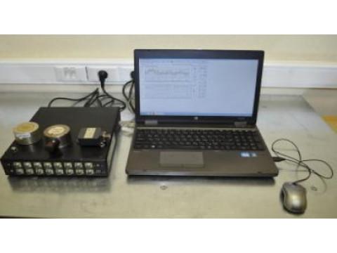 Комплекс контроля вибросостояния гидроагрегатов измерительный многоканальный переносной МИК-16