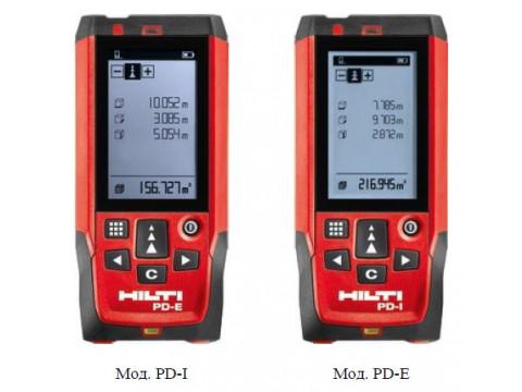 Дальномеры лазерные PD-I, PD-E