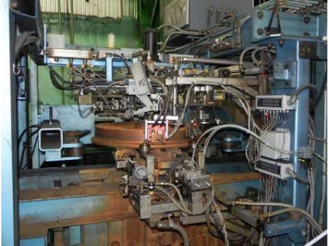 Станция автоматизированного ультразвукового контроля цельнокатаных колес NDT-UMS280