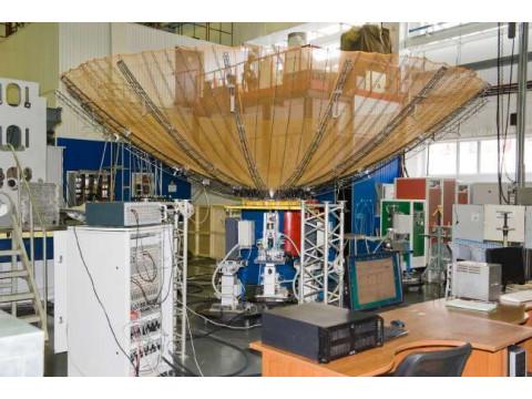 Система контроля геометрических размеров, формы, деформаций, колебаний крупногабаритных космических конструкций СКФД