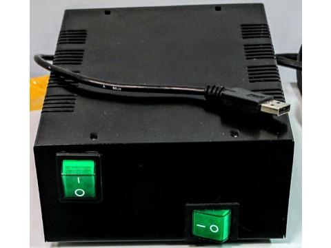Стенд для измерений параметров микросистем бесконтактного контроля силы электрического тока СКИ МБКТ