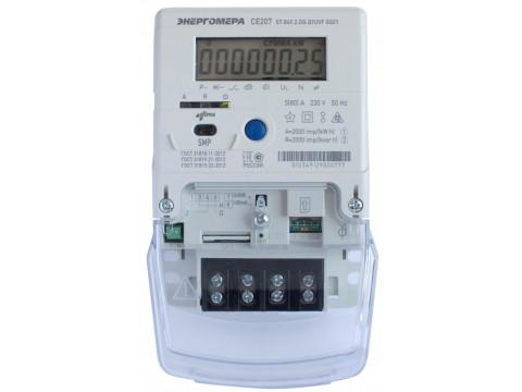 Счетчики электрической энергии однофазные многофункциональные СЕ207