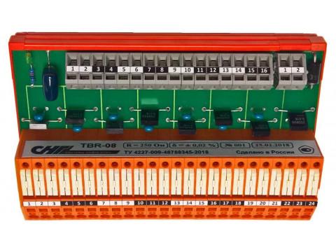 Преобразователи измерительные постоянного тока в напряжение TBR-08