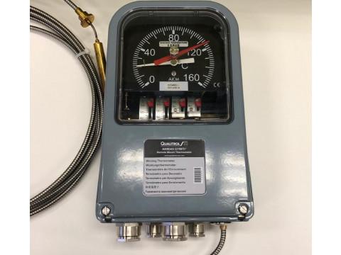 Термометры манометрические показывающие сигнализирующие АКМ 345