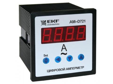Амперметры и вольтметры цифровые AD и VD