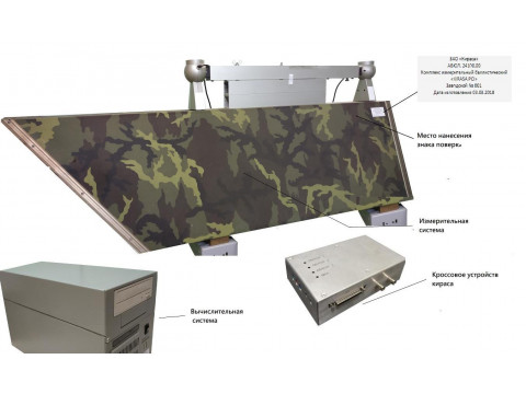 Комплексы измерительные баллистические KIRASA PCI