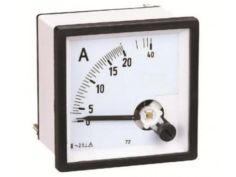 Амперметры и вольтметры аналоговые AM-A72, AM-A96, BM-A72, BM-A96