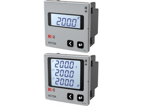 Приборы щитовые цифровые электроизмерительные КС