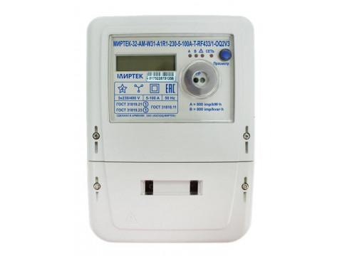 Счетчики электрической энергии трехфазные многофункциональные МИРТЕК-32-АМ