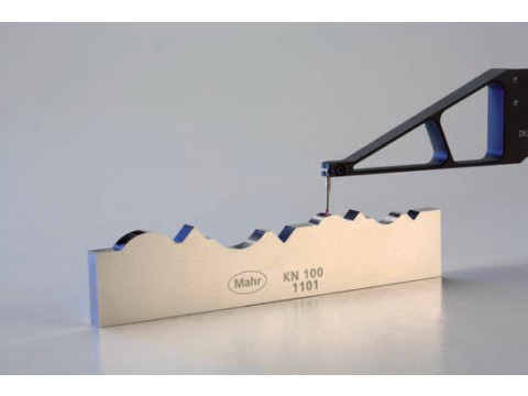 Меры для поверки приборов для измерений контура поверхности KN 100 и KN 100 S
