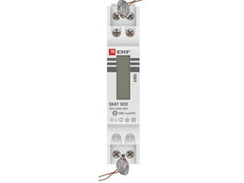 Счетчики электрической энергии статические однофазные SКАТ 1