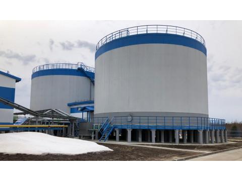 Резервуары стальные вертикальные цилиндрические РВС-3000