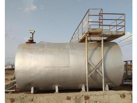 Резервуары стальные горизонтальные цилиндрические РГС-50, РГС-60, РГС-100