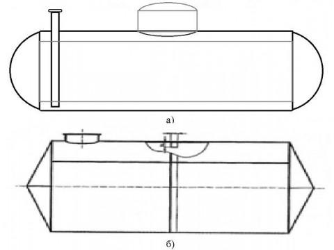 Резервуары стальные горизонатльные цилиндрические РГС-10, РГС-11, РГС-30, РГС-60, РГС-70