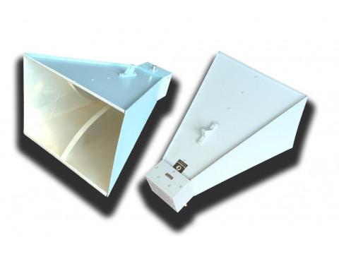 Антенны широкополосные измерительные рупорные П6-421, П6-421М