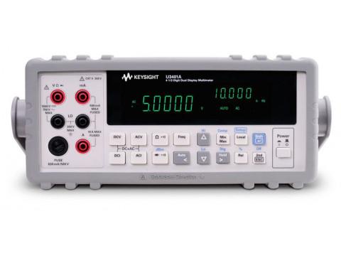 Цифровой мультиметр, 4½ разряда, двустрочный дисплей U3401A