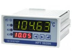 Измерители-регуляторы технологические (милливольтметры универсальные) ИРТ 5900