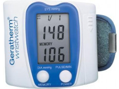 Измерители артериального давления (тонометры) электронные автоматические с принадлежностями Geratherm wristwatch KP 6130