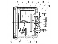 Тягомеры, напоромеры, тягонапоромеры, дифманометры-тягомеры, дифманометры-напоромеры, дифманометры-тягонапоромеры мембранные показывающие ТмМП-100-М2, НМП-100-М2, ТНМП-100-М2, ДТмМП-100-М2, ДНМП-100-М2, ДТНМП-100-М2