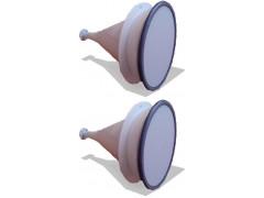 Антенны измерительные рупорно-линзовые П6-80/1