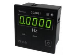 Частотомеры цифровые щитовые СС3021