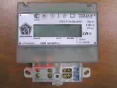 Счетчики электрической энергии однофазные электронные СОЭ-04