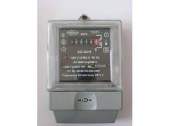 Счетчики статические (электронные) ватт-часов активной энергии переменного тока однофазные СО-Э411