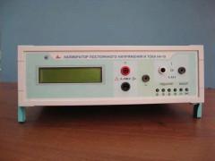Калибраторы постоянного напряжения и тока Н4-19