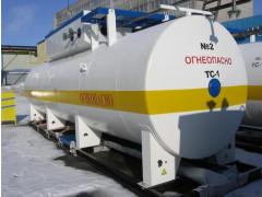 Резервуары стальные горизонтальные цилиндрические РТ