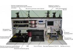 Комплекс метрологический измерения хроматической дисперсии, поляризационной модовой дисперсии и спектрального пропускания в наноструктурных фотонно-кристаллических световодах