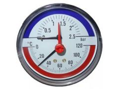 Термоманометры показывающие F+R818, F+R828, TIM-ABS, TIRM-ABS